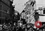 Image of German troops entering Graz during Anschluss Austria, 1938, second 3 stock footage video 65675041765
