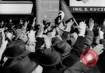 Image of German troops entering Graz during Anschluss Austria, 1938, second 17 stock footage video 65675041765