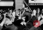 Image of German troops entering Graz during Anschluss Austria, 1938, second 19 stock footage video 65675041765