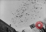 Image of Hitler welcomed during the Anschluss Linz Austria, 1938, second 1 stock footage video 65675041767