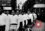 Image of Hitler welcomed during the Anschluss Linz Austria, 1938, second 6 stock footage video 65675041767