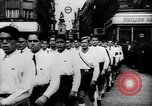 Image of Hitler welcomed during the Anschluss Linz Austria, 1938, second 7 stock footage video 65675041767