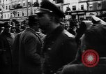 Image of Hitler welcomed during the Anschluss Linz Austria, 1938, second 8 stock footage video 65675041767