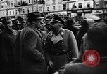 Image of Hitler welcomed during the Anschluss Linz Austria, 1938, second 12 stock footage video 65675041767