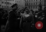Image of Hitler welcomed during the Anschluss Linz Austria, 1938, second 16 stock footage video 65675041767