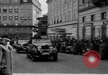 Image of Hitler welcomed during the Anschluss Linz Austria, 1938, second 22 stock footage video 65675041767