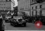 Image of Hitler welcomed during the Anschluss Linz Austria, 1938, second 23 stock footage video 65675041767
