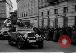 Image of Hitler welcomed during the Anschluss Linz Austria, 1938, second 24 stock footage video 65675041767