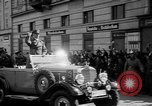 Image of Hitler welcomed during the Anschluss Linz Austria, 1938, second 26 stock footage video 65675041767