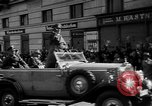 Image of Hitler welcomed during the Anschluss Linz Austria, 1938, second 27 stock footage video 65675041767