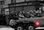 Image of Hitler welcomed during the Anschluss Linz Austria, 1938, second 29 stock footage video 65675041767