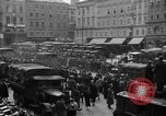 Image of Hitler welcomed during the Anschluss Linz Austria, 1938, second 31 stock footage video 65675041767