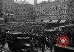Image of Hitler welcomed during the Anschluss Linz Austria, 1938, second 32 stock footage video 65675041767