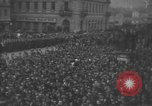 Image of Hitler welcomed during the Anschluss Linz Austria, 1938, second 38 stock footage video 65675041767