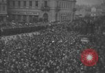 Image of Hitler welcomed during the Anschluss Linz Austria, 1938, second 39 stock footage video 65675041767