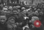 Image of Hitler welcomed during the Anschluss Linz Austria, 1938, second 42 stock footage video 65675041767