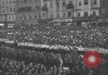 Image of Hitler welcomed during the Anschluss Linz Austria, 1938, second 44 stock footage video 65675041767