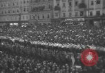 Image of Hitler welcomed during the Anschluss Linz Austria, 1938, second 45 stock footage video 65675041767
