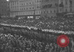 Image of Hitler welcomed during the Anschluss Linz Austria, 1938, second 47 stock footage video 65675041767