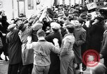 Image of Exuberant crowds cheer the Anschuss (Annexation of Austria by Germany) Vienna Austria, 1938, second 23 stock footage video 65675041768