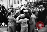 Image of Exuberant crowds cheer the Anschuss (Annexation of Austria by Germany) Vienna Austria, 1938, second 24 stock footage video 65675041768