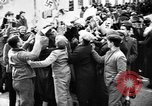 Image of Exuberant crowds cheer the Anschuss (Annexation of Austria by Germany) Vienna Austria, 1938, second 27 stock footage video 65675041768