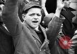 Image of Exuberant crowds cheer the Anschuss (Annexation of Austria by Germany) Vienna Austria, 1938, second 28 stock footage video 65675041768