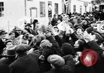 Image of Exuberant crowds cheer the Anschuss (Annexation of Austria by Germany) Vienna Austria, 1938, second 29 stock footage video 65675041768