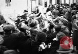 Image of Exuberant crowds cheer the Anschuss (Annexation of Austria by Germany) Vienna Austria, 1938, second 30 stock footage video 65675041768