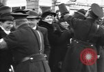 Image of Exuberant crowds cheer the Anschuss (Annexation of Austria by Germany) Vienna Austria, 1938, second 32 stock footage video 65675041768