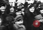Image of Exuberant crowds cheer the Anschuss (Annexation of Austria by Germany) Vienna Austria, 1938, second 33 stock footage video 65675041768