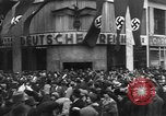 Image of Exuberant crowds cheer the Anschuss (Annexation of Austria by Germany) Vienna Austria, 1938, second 36 stock footage video 65675041768