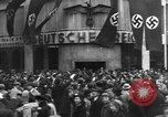 Image of Exuberant crowds cheer the Anschuss (Annexation of Austria by Germany) Vienna Austria, 1938, second 37 stock footage video 65675041768