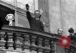 Image of Exuberant crowds cheer the Anschuss (Annexation of Austria by Germany) Vienna Austria, 1938, second 39 stock footage video 65675041768