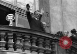 Image of Exuberant crowds cheer the Anschuss (Annexation of Austria by Germany) Vienna Austria, 1938, second 40 stock footage video 65675041768