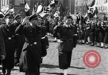 Image of Exuberant crowds cheer the Anschuss (Annexation of Austria by Germany) Vienna Austria, 1938, second 44 stock footage video 65675041768