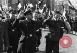Image of Exuberant crowds cheer the Anschuss (Annexation of Austria by Germany) Vienna Austria, 1938, second 45 stock footage video 65675041768