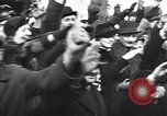 Image of Exuberant crowds cheer the Anschuss (Annexation of Austria by Germany) Vienna Austria, 1938, second 49 stock footage video 65675041768