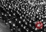 Image of Exuberant crowds cheer the Anschuss (Annexation of Austria by Germany) Vienna Austria, 1938, second 52 stock footage video 65675041768