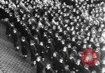 Image of Exuberant crowds cheer the Anschuss (Annexation of Austria by Germany) Vienna Austria, 1938, second 53 stock footage video 65675041768