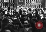 Image of Exuberant crowds cheer the Anschuss (Annexation of Austria by Germany) Vienna Austria, 1938, second 55 stock footage video 65675041768
