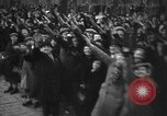 Image of Exuberant crowds cheer the Anschuss (Annexation of Austria by Germany) Vienna Austria, 1938, second 62 stock footage video 65675041768