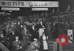 Image of railway station Berlin Germany, 1932, second 15 stock footage video 65675041772