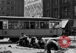 Image of vehicular traffic Berlin Germany, 1932, second 17 stock footage video 65675041774