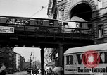Image of vehicular traffic Berlin Germany, 1932, second 22 stock footage video 65675041774