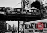 Image of vehicular traffic Berlin Germany, 1932, second 23 stock footage video 65675041774