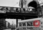 Image of vehicular traffic Berlin Germany, 1932, second 24 stock footage video 65675041774