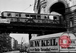 Image of vehicular traffic Berlin Germany, 1932, second 25 stock footage video 65675041774