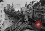 Image of vehicular traffic Berlin Germany, 1932, second 30 stock footage video 65675041774