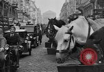 Image of vehicular traffic Berlin Germany, 1932, second 43 stock footage video 65675041774
